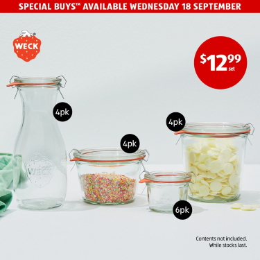 Special Buys Wed! Available at ALDI on 18/9!!!