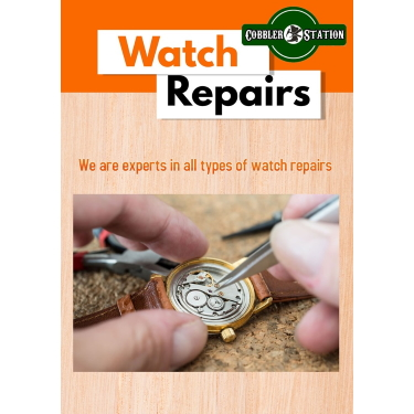 Watch Repairs available in Cobbler Station