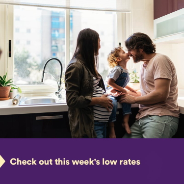 This week's low rate…